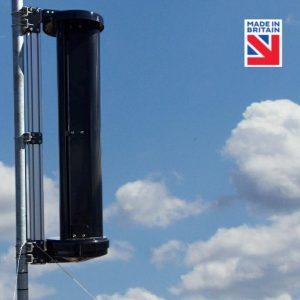 vertical axe marine wind turbine 150watts